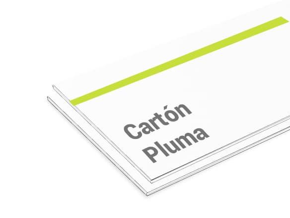 Cartón pluma
