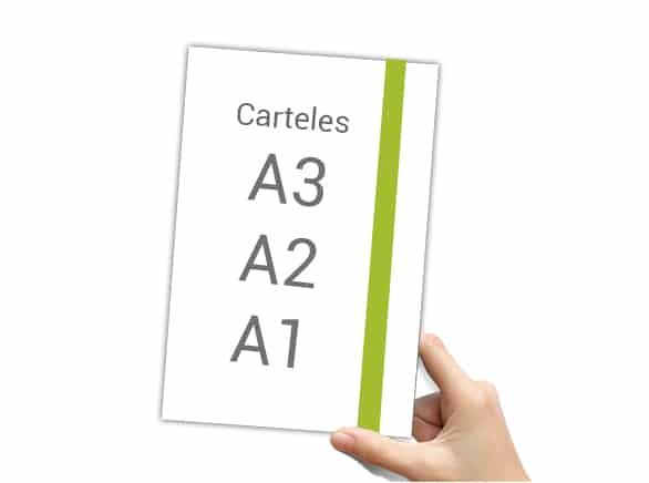Impresión de Cartelería en todos los formatos.