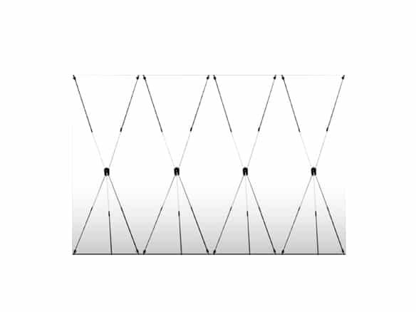photocall lona y estructura de araña
