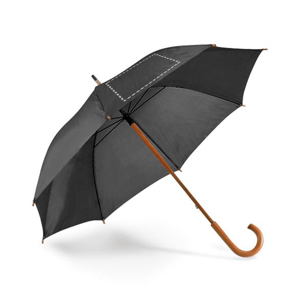 Paraguas personalizado mango madera