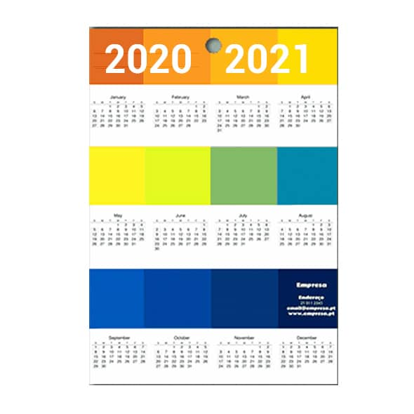 calendarios personalizados de pared 2