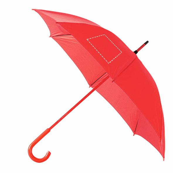 paraguas de colores personalizados rojo