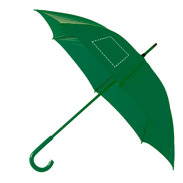 paraguas de colores personalizados verde oscuro